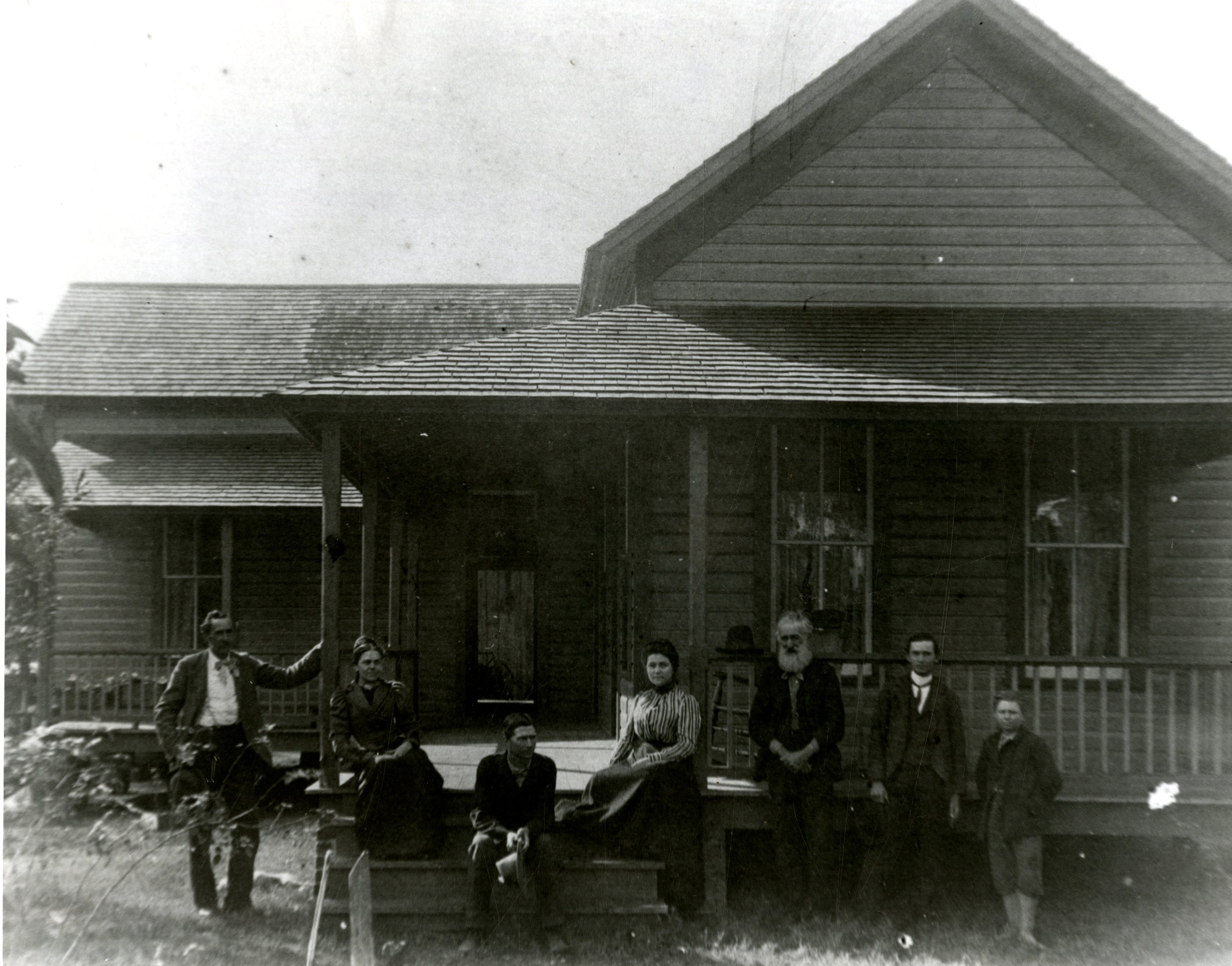 Daniel McMullen House, Largo, Florida, circa 1906.