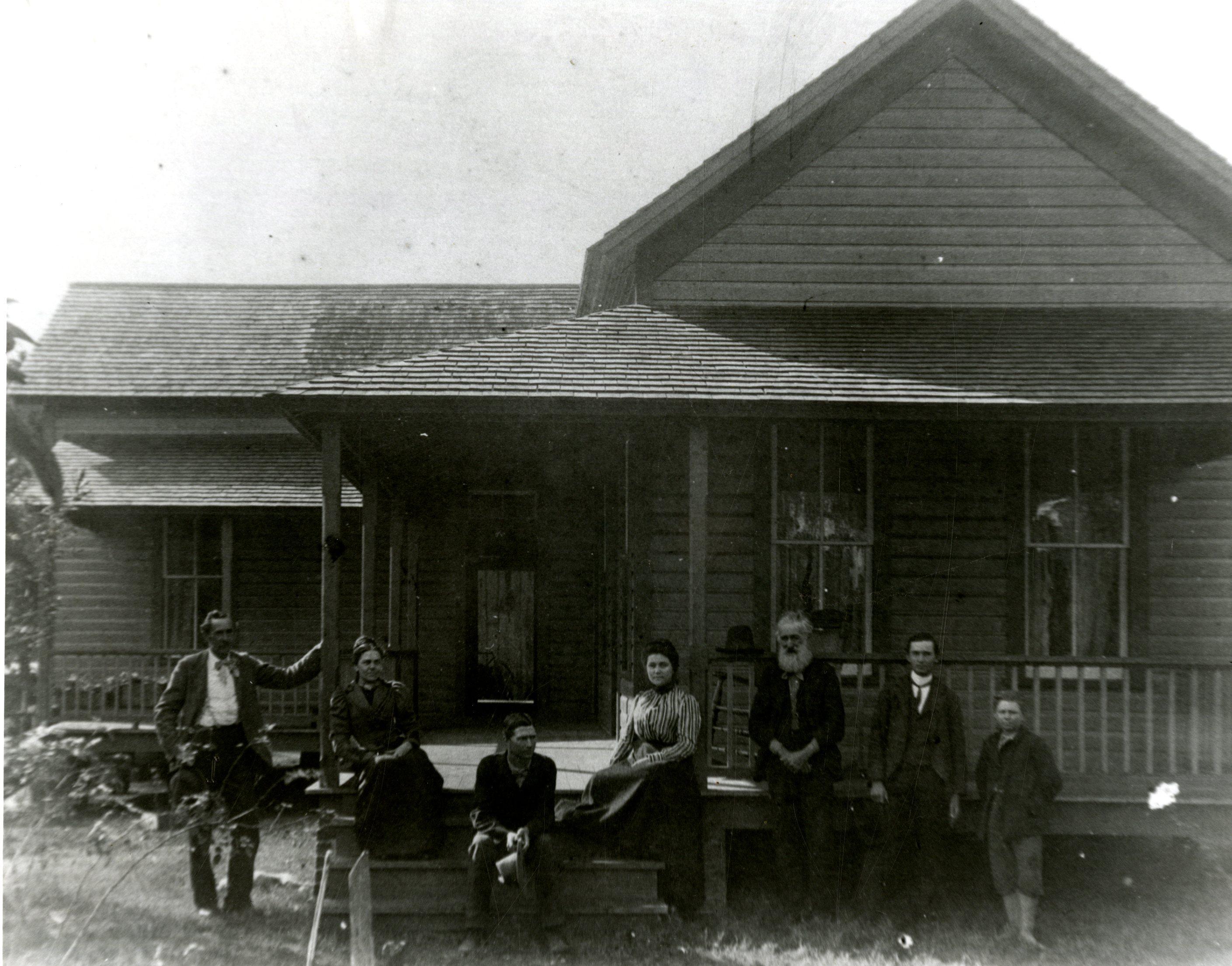 Daniel McMullen House, Largo, Florida, circa 1906.