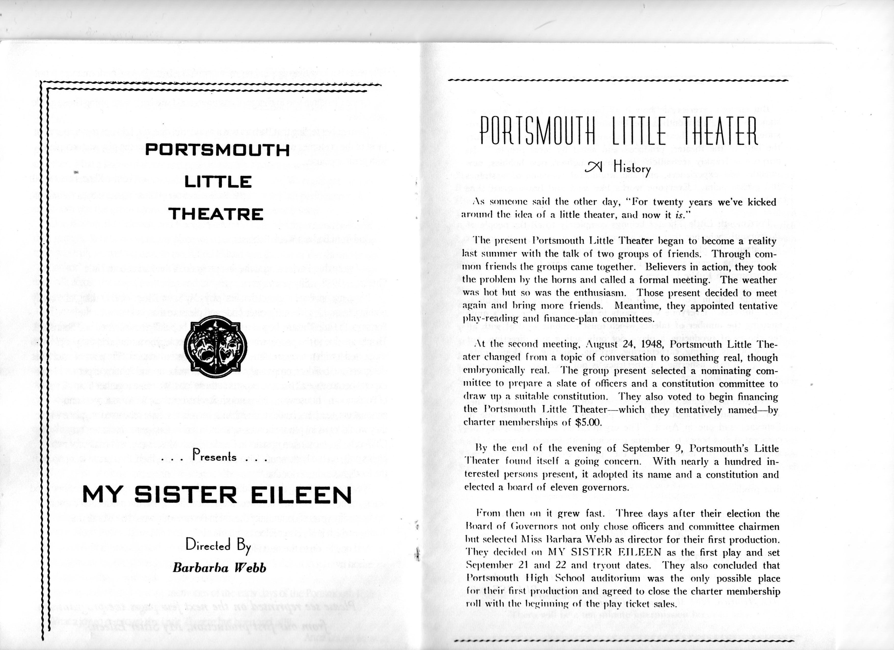 History of Portsmouth Little Theatre