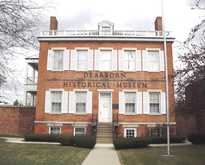 The Commandant's Quarters became the Dearborn Historical Museum in 1950.