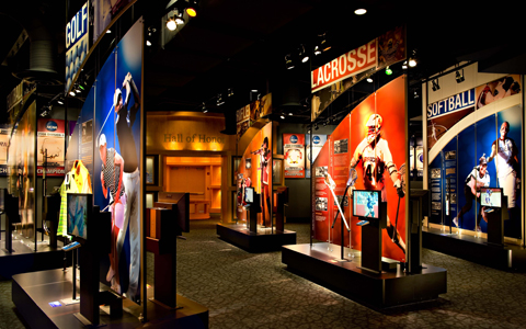 NCAA Hall of Champions Exhibit
