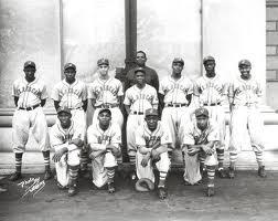 Jacksonville Red Caps. Negro League Baseball Team.