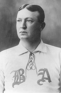 A photograph of Cy Young in uniform. (Source: http://www.findagrave.com/cgi-bin/fg.cgi?page=gr&GRid=1251)