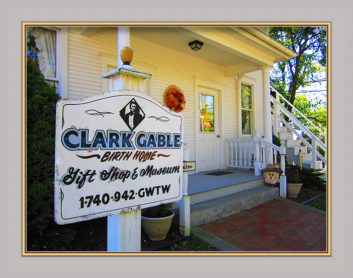 Clark Gable Birthplace and Museum's Marker