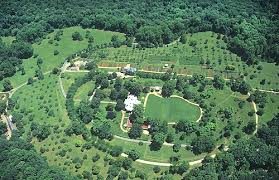 Birdseye view of Monticello