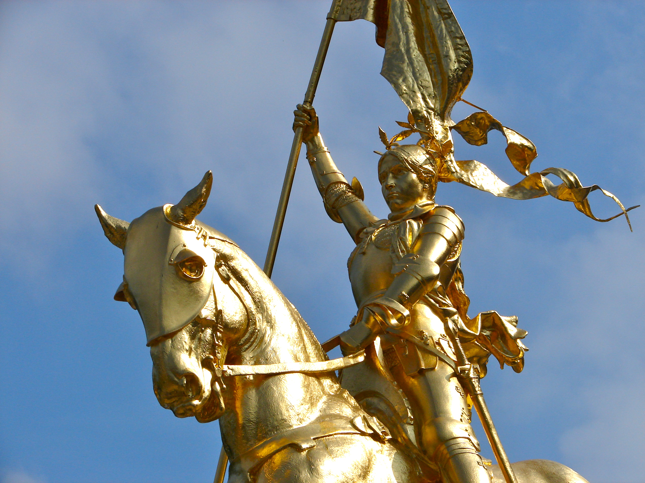 Joan of Arc statue in Philadelphia, By Emmanual Fremiet.