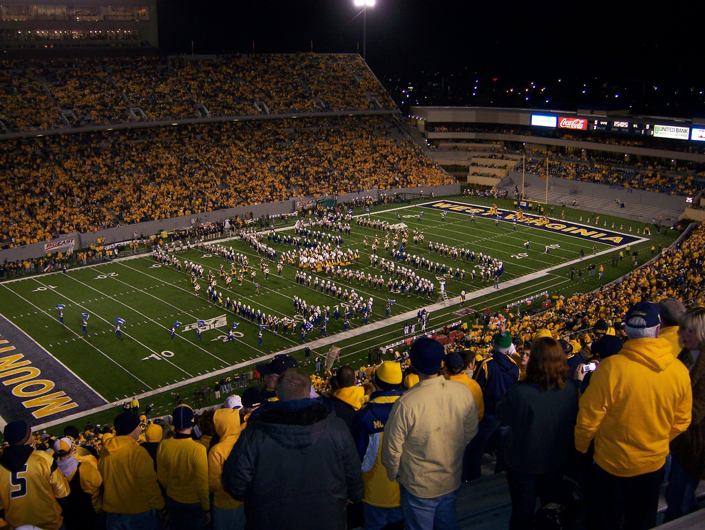 A recent view of Milan Puskar Stadium, whose yellow-and-gold clad fans regularly pack the stands with up to 60,000 spectators.