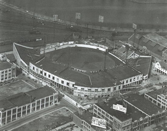 An overview of the field (Sourced from http://www.bu.edu/today/2012/braves-field-remembering-the-wigwam/, Boston Braves Historical Association).