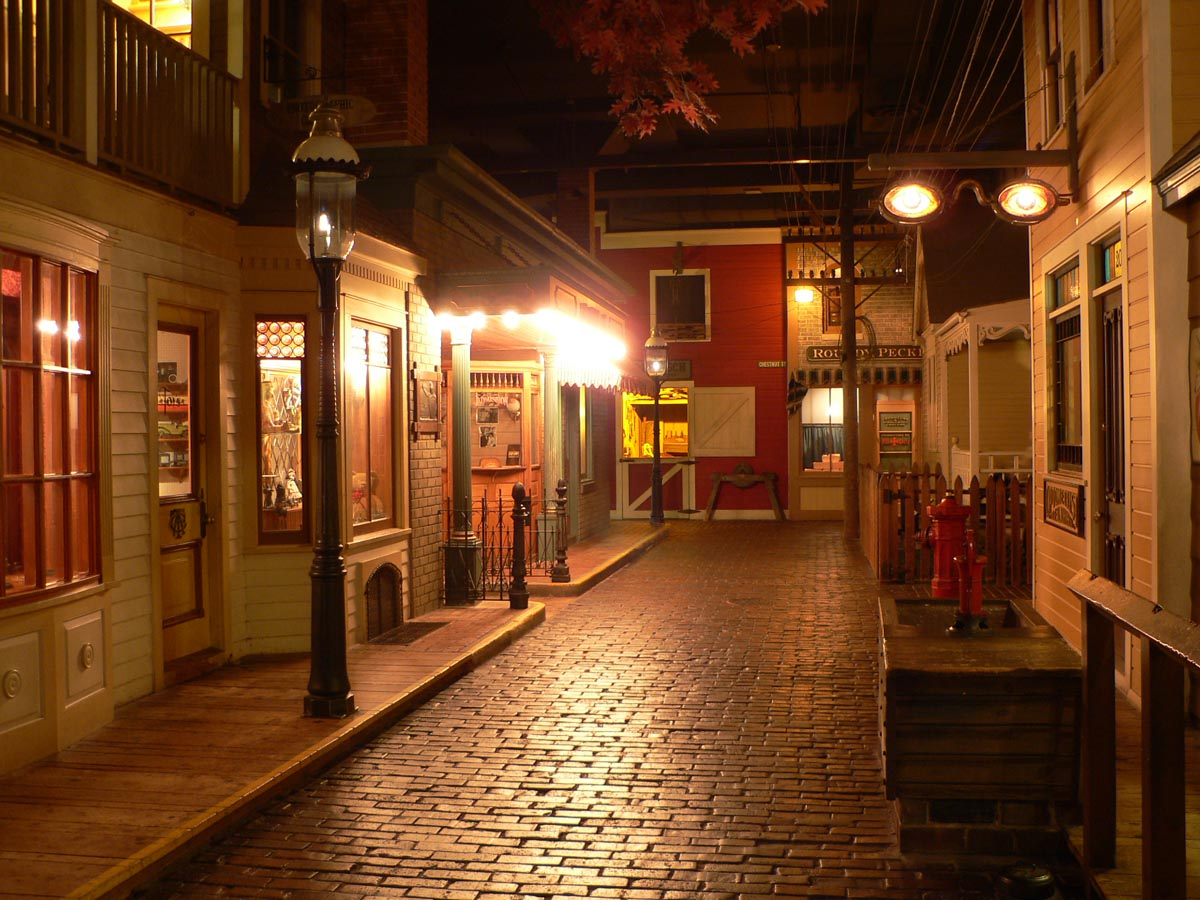 The Streets of Old Milwaukee is one of the most popular exhibits at the museum.