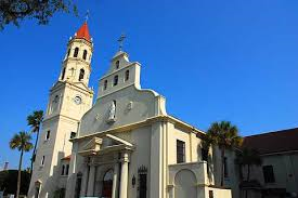 Originally constructed in 1797, the Cathedral Basilica of St. Augustine is a National Historic Landmark.