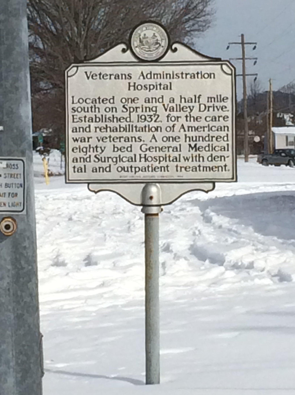 Huntington VA Marker, Huntington, WV