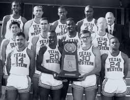 The 1965-66 National Champion Texas Western Miners.