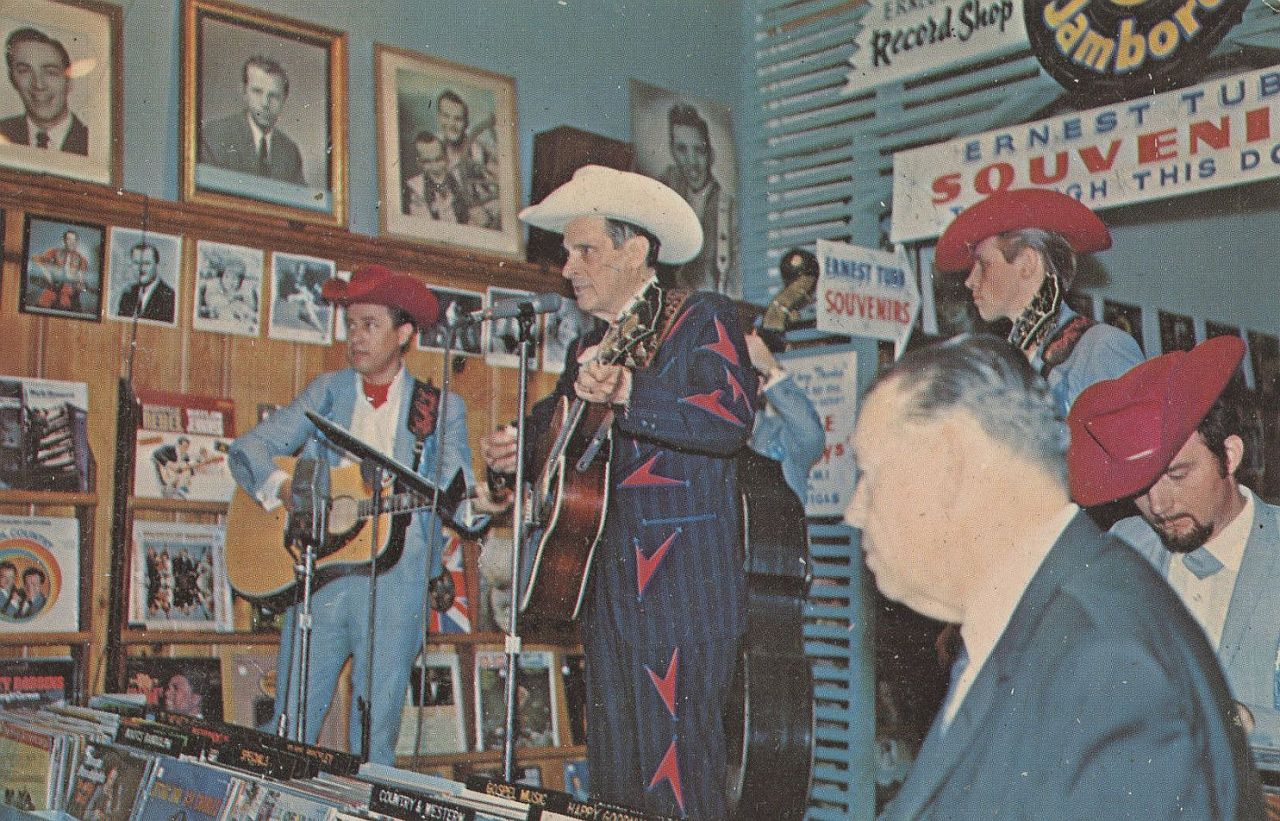 Ernest Tubb and the Texas Troubadours Performing on the Midnite Jamboree, Early 1960s