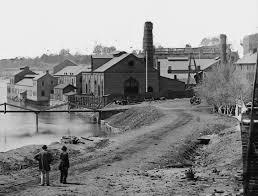 Tredegar Iron works prior to Union occupation of Richmond