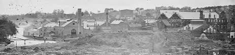 Ruins of Richmond and Tredegar