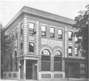 St. Luke Penny Savings Bank soon after it moved to its current location in 1929.