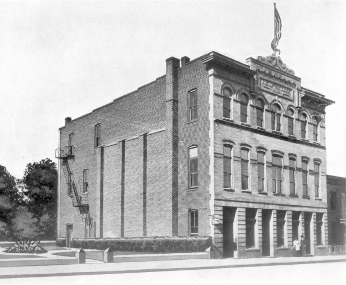 The first headquarters of St. Luke when located on St. James Street