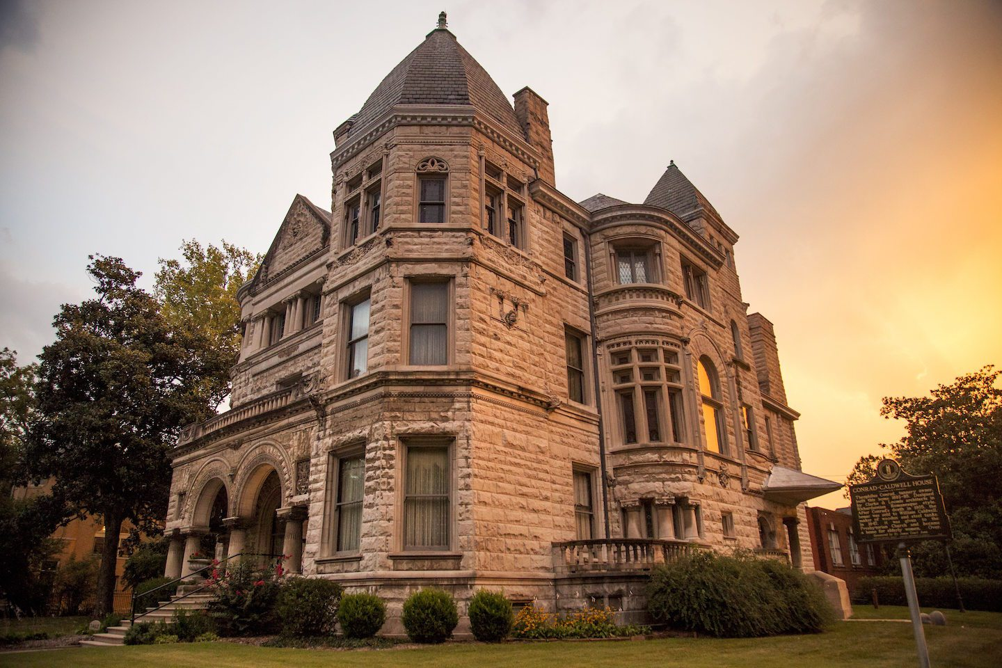 The Conrad-Caldwell House (image from official website)