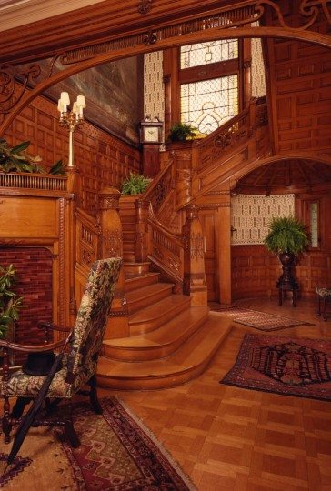 The Conrad-Caldwell House entryway (image from official website)