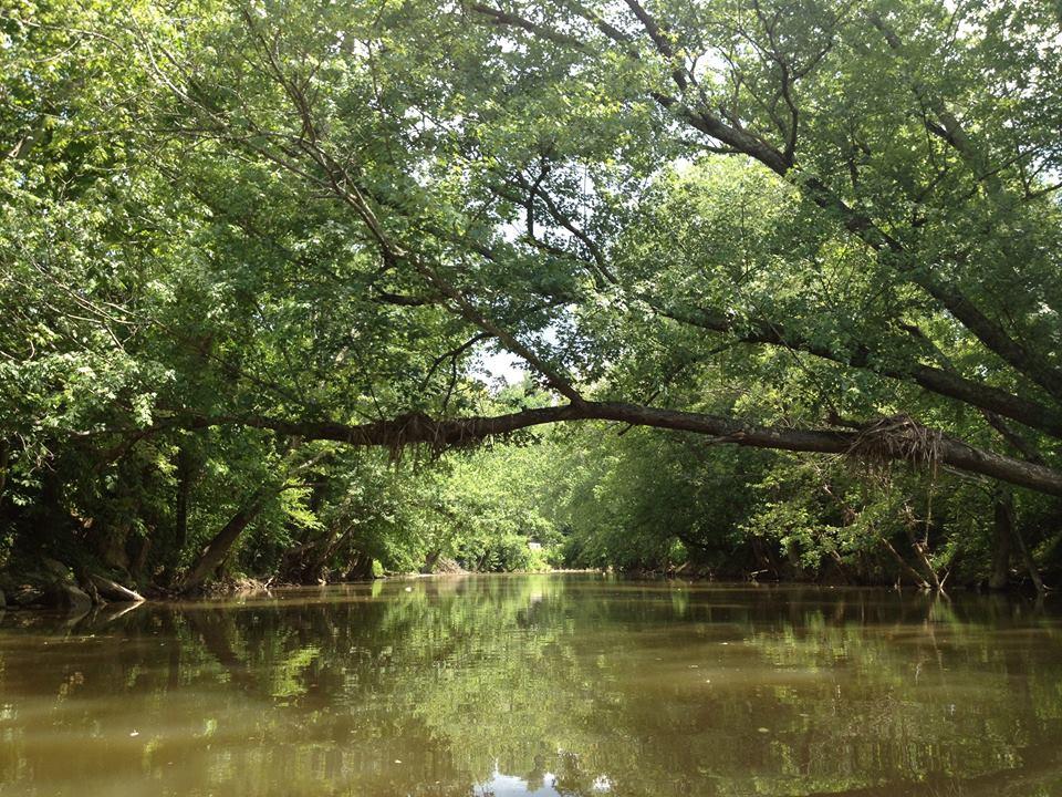 Twelve Pole Creek.