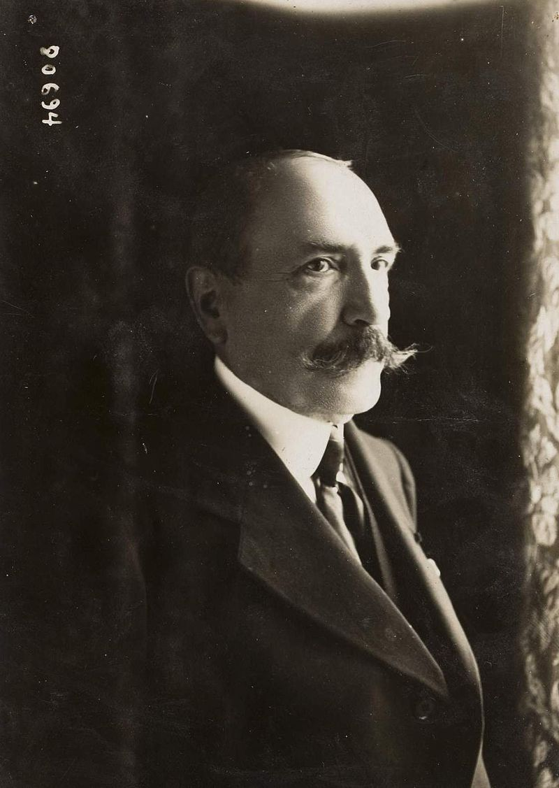 Antonin Mercie just prior to his death in 1916