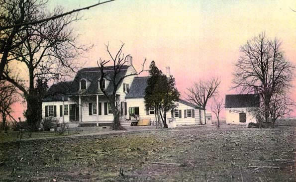 Older photograph of the house