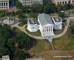 Ariel view of the capitol as it looks today