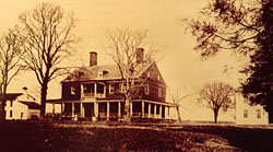 undated photo of Berkeley Plantation. Photo courtesy of Virginia Department of Historic Resources