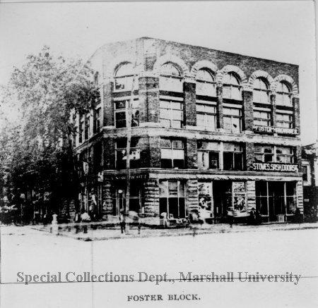 Foster Block, circa 1900