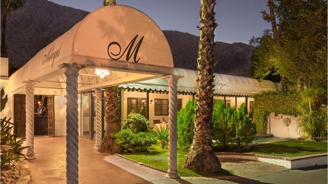 Iconic Melvyn's Restaurant at the Ingleside Inn
