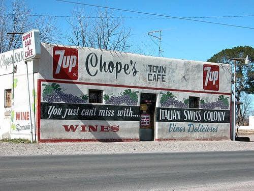 Chope's Advertisement Wall