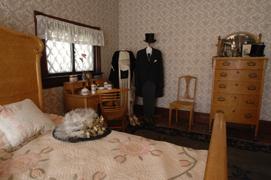 Warren G. Harding's bedroom  Harding Home, Ohio Historical Society