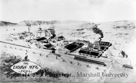 Ensign Manufacturing, circa 1897