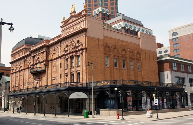 Exterior view of the theater