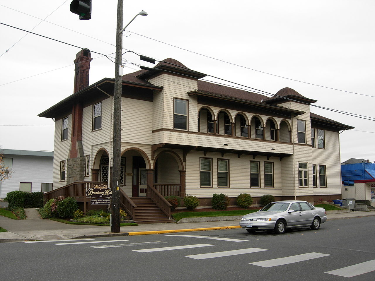 The former Aftermath Clubhouse was built in 1905, becoming what is considered the first clubhouse for women in the state of Washington.