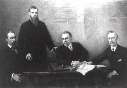 Brothers, Samuel, Joseph, David, and Matthew Walker built up Walker Brothers Bank from their dry goods business, creating one of the first banks in Utah territory.