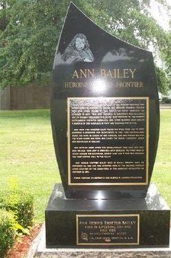 Anne Bailey Memorial