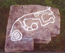 Water Panther Petroglyph.