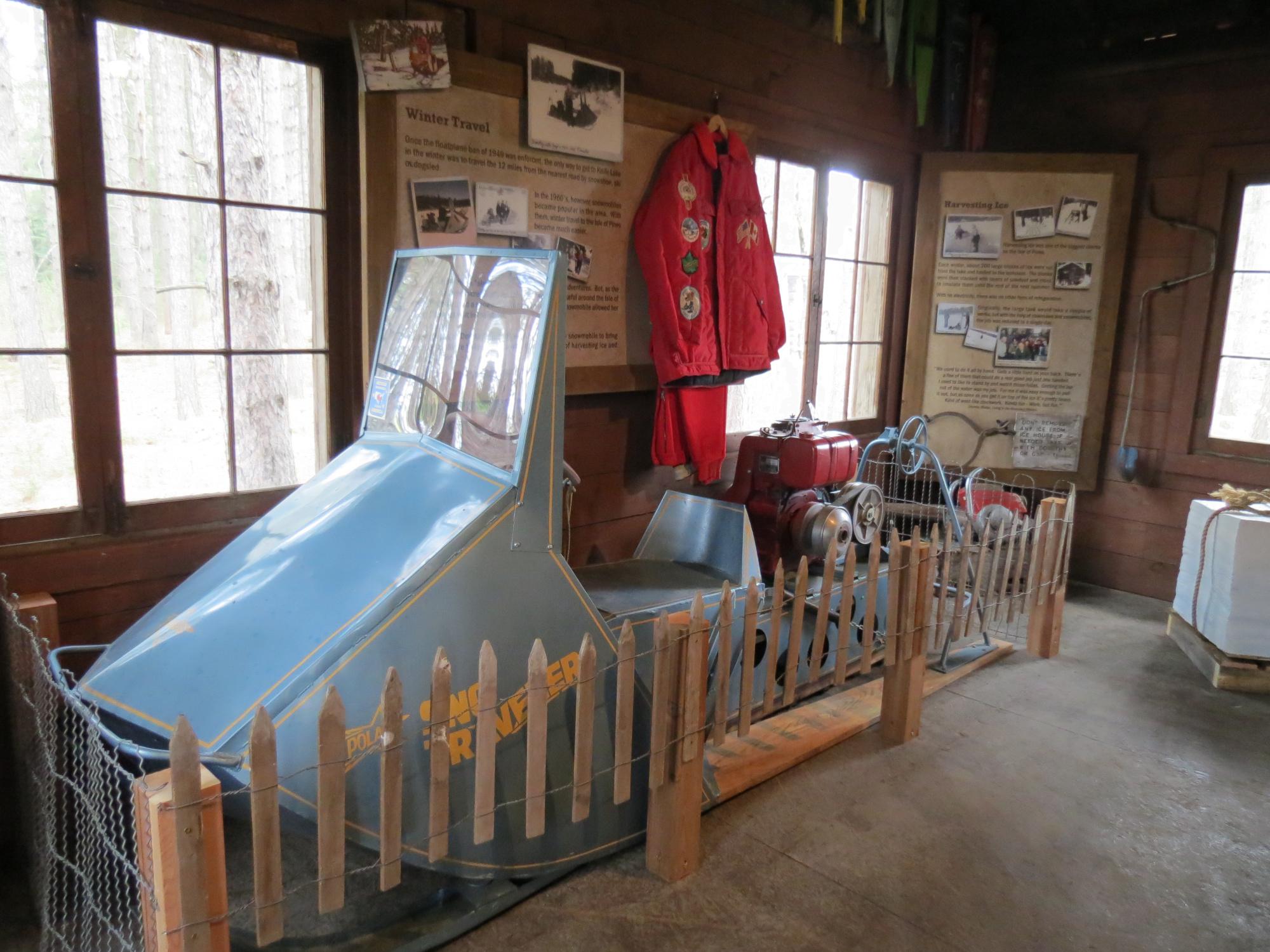 Winter Travel in Point Cabin