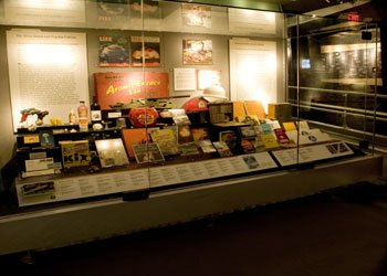 Memorabilia on display at the National Atomic Testing Museum (Vegas.com)