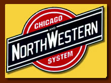 Logo of the Chicago and Northwestern Railway Company