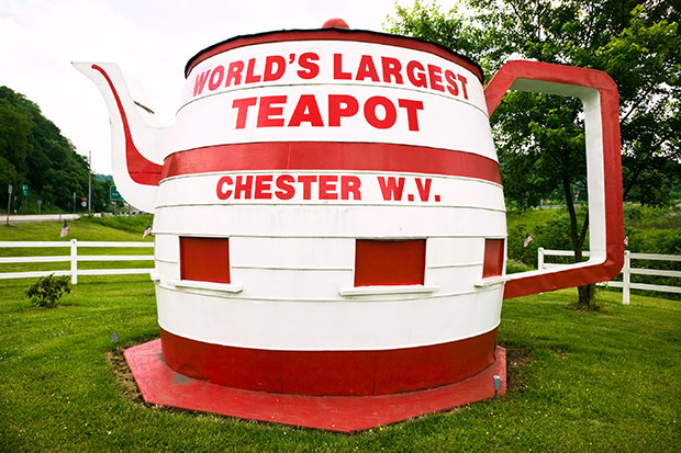 World's Largest Teapot today