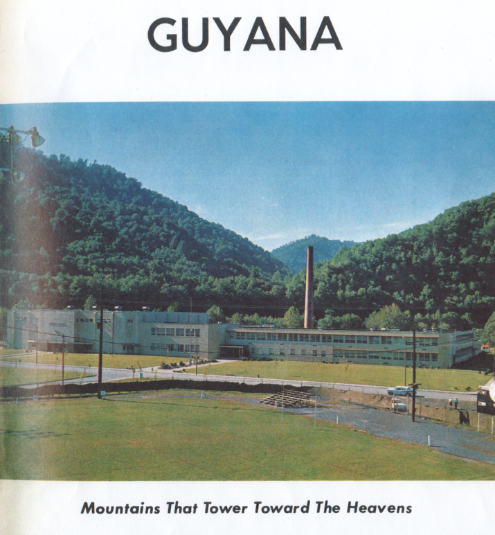 Logan High School looked a little different in 1963. This photo was taken from the first page of the centennial edition of the Guyana. The Guyana was the school yearbook.