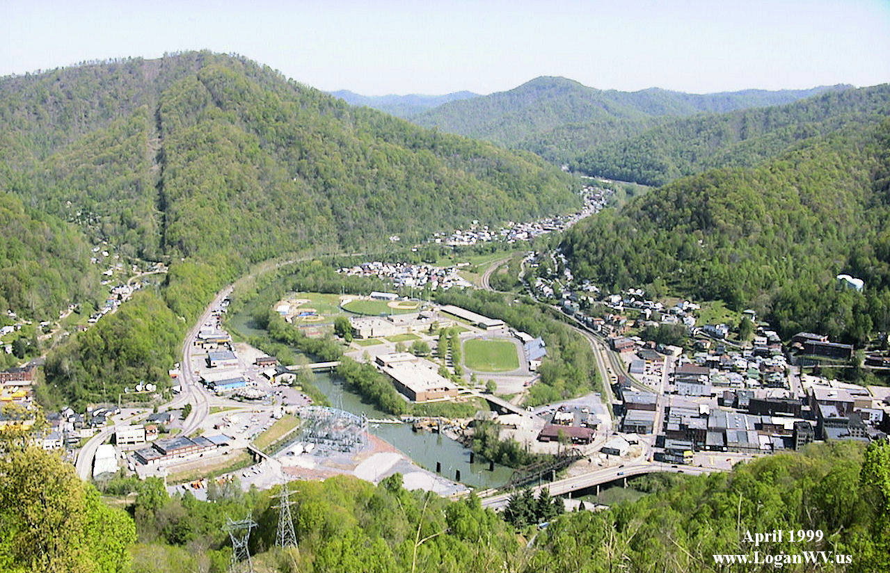 This is a view of Logan High School from Buskirk Hill.