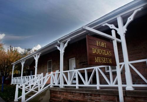 The Fort Douglas Military Museum honors those who have served for the country.