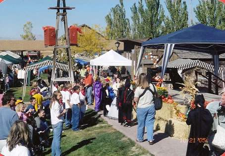 Special events, like this Pumpkin Walk, after often held at the Mill.