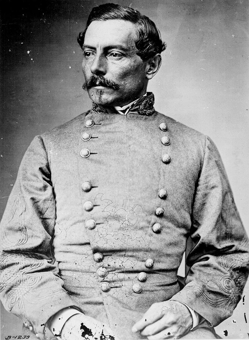 General P. G. T. Beauregard. Taken during the Civil War