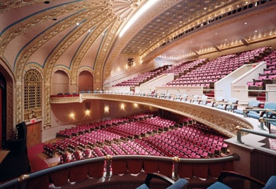 The Des Moines Women's Club built the 1400-seat theater in the early 1920s. (Source http://suemclean.honeycomb.net/content/images/B821CD7