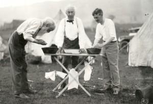 Camping- John, Edison, Firestone