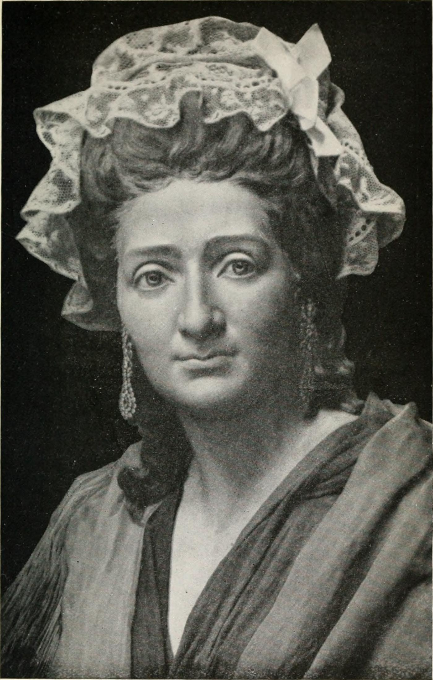 Madame Tussaud at the age of 42.